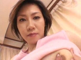 Nasty Lactating Asian Girl...