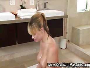 Picture Hot Naughty Rubdown From Fetish Masseuse