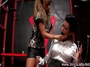Picture Bdsm Lezdom Fetish Babe Dominates Slut