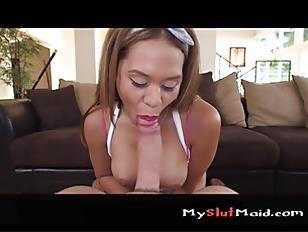 Big Booty Latina Maid...