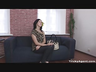 Young brunette gets anal fucked hard!