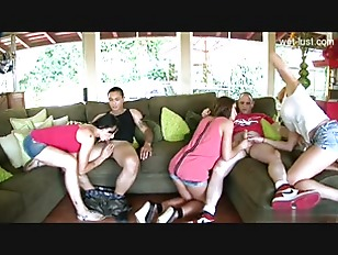 Picture Cute Babe Group Fuck On Couch