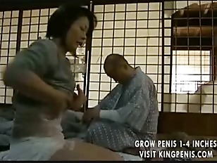 Japanese housewife gets lucky
