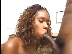 Picture Ebony Almond Threesome