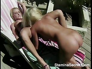 Lesbians Outdoor Zora Banks...