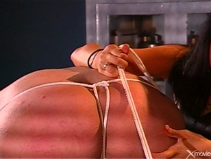 Picture Asian Dominatrix Ties Up Sub