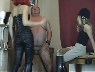 fat old bdsm - Fat Old Man Bdsm Humiliation From Two Dominatrix