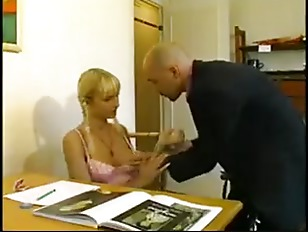 Picture Hot Blonde French Student