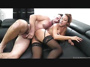 Brunette Stocking Chick Fuck...