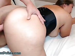 My girlfriend has an large Asian booty