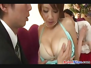 Picture Asian Babe Sucking Cock At The Club