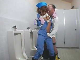 Asian Cleaner Fucked In...