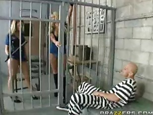 Brianna Love and Phoenix Marie Inmate Blowjob
