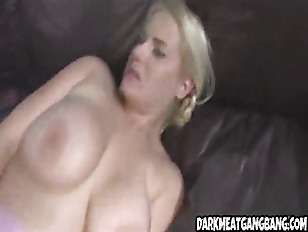 Blonde Gets Nalied By...