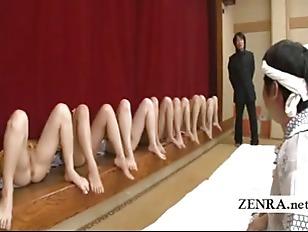 Subtitled Bottomless Japanese Milf...