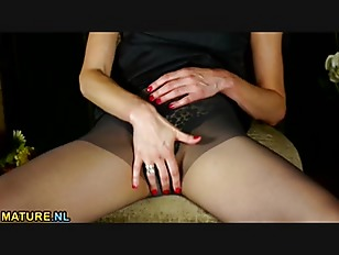 Picture American Housewife Stripping And Feeling Nau...