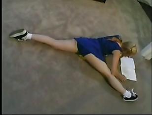 Cheerleader anaali porno