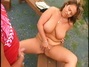 Picture Great Titted Mature Outdoor Fuck