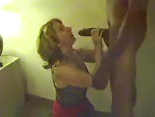 Picture White Wife Sucking Huge Black Cock
