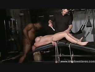 Black girl giving street blow job