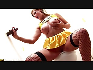 Busy MILF gets ass fucked at Glory Hole