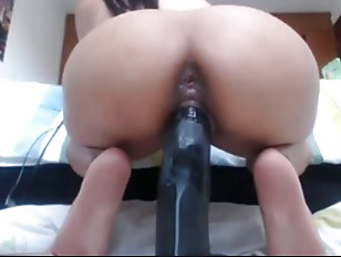 Webcam girl fucks with...