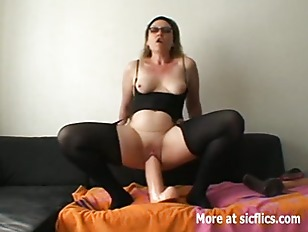 Humongous Dildo Fuck And...
