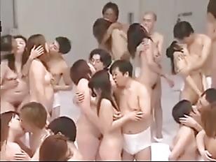 Big Group Sex Orgy...