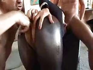 Oiled up treat does slick pumping