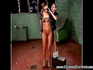 Picture Domina Has Her Subject Wired Up And Ready To...