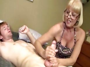 Granny massage pics