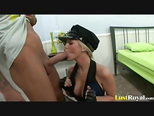 Hot Policewoman Dylan Riley...