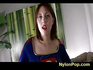 Nickey Huntsman Supergirl Footjob...