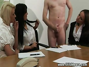 Horny Office Babes Audition...