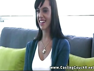 Picture Shy Young Girl 18+ On The Casting Couch