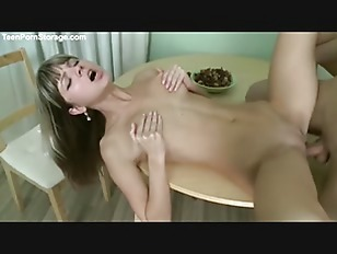 Gina fuck on table...