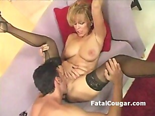 Picture Blonde Busty Cougar Gets Fucked By Neighbors...