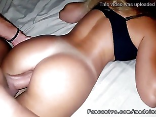 Big dick fucked her tight sleeping ass babe
