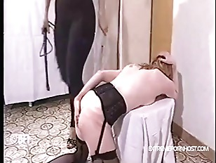 Leashed Chained Caned And...