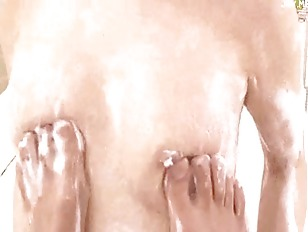 Japanese Sudsy Slut Blowing...