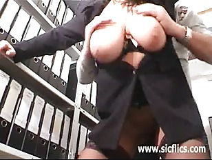 Picture Hot Secretary Gets Fisted Fucked And Jizzed...