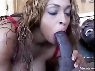 Picture Busty Ebony Babe Carmen Hayes Sucks And Fuck...