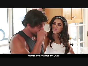 image Crony039s step daughter tricks dad and caught