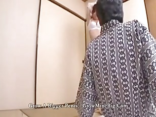 Picture Old Man Sucks On Her Japanese Tits