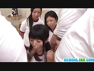 Picture Sporty 20y-Girls Sharing The Same Dick