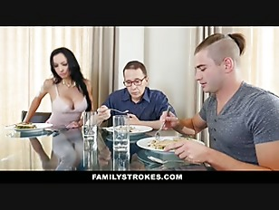 FamilyStrokes   Hot Step Aunt Seduces Nephew