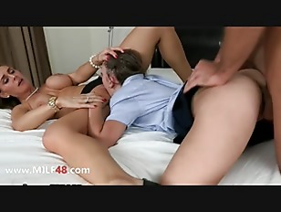 MILF With Doughter Banging...