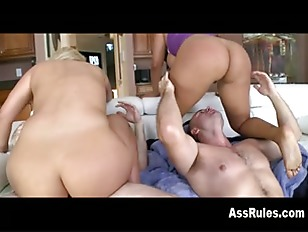 Two Huge Asses Pounded...