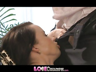Picture Love Creampie Busty Mom Gets Cum Inside Afte...