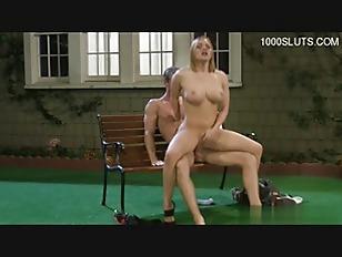 Blonde Hot Chick Get...